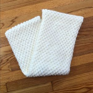 Old Navy White Infinity Scarf